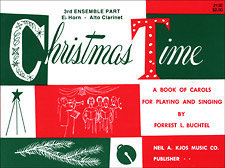 View larger image of Christmas Time - 3rd Ensemble Alto Sax Book