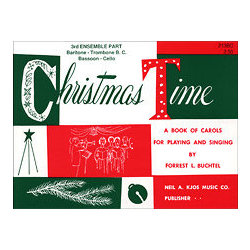 Christmas Time - 3rd Ensemble Bass Clef Book