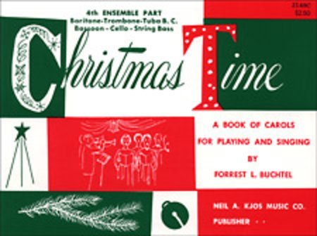 View larger image of Christmas Time - 4th Ensemble Bass Clef Book