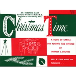 Christmas Time - 4th Ensemble Bass Clef Book