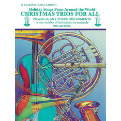 Christmas Trios for All - Clarinet/Bass Clarinet