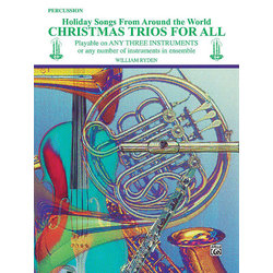 Christmas Trios for All - Percussion