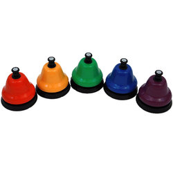 Chroma-Notes CNDB-C Desk Bells Chromatics Add-on Set
