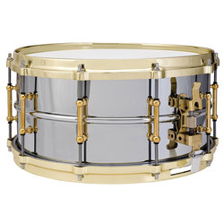 Chrome over Brass Snare Drum - 6.4x14