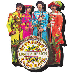 Chunky Magnet The Beatles Magnet - Sgt. Peppers
