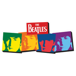 Chunky Magnet The Beatles USA Magnet