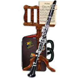 Clarinet 3D Greeting Card
