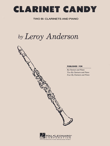 View larger image of Clarinet Candy, (Anderson) - Clarinet Duet