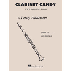 Clarinet Candy, (Anderson) - Clarinet Duet