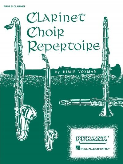 View larger image of Clarinet Choir Repertoire - Fourth B Flt Clarinet