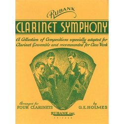 Clarinet Symphony - for Clarinet Quartet or Ensemble