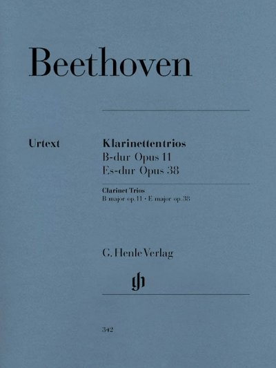 View larger image of Clarinet Trios (Beethoven) - B Flat Major Op. 11 and E Flat Major Op. 38