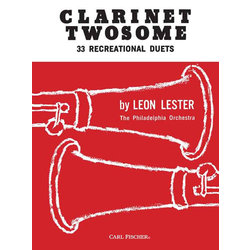 Clarinet Twosome - (Clarinet Duet)