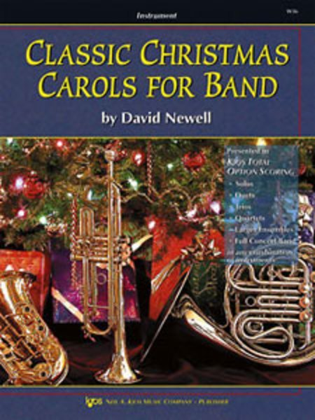 View larger image of Classic Christmas Carols for Band - Oboe