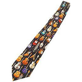 View larger image of Classic Guitars Silk Tie