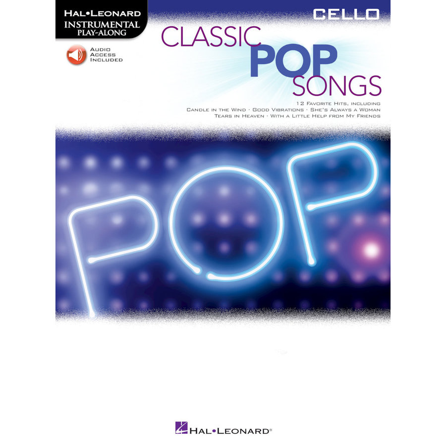 View larger image of Classic Pop Songs - Cello w/Online Audio