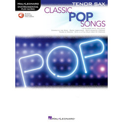 Classic Pop Songs - Tenor Sax w/Online Audio