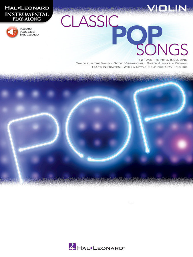 View larger image of Classic Pop Songs - Violin w/Online Audio