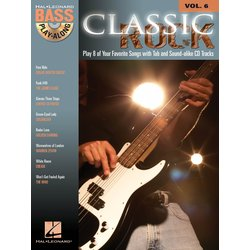 Classic Rock - Bass Play-Along Volume 6 w/CD