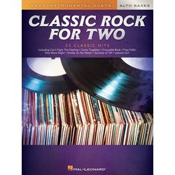 Classic Rock for Two Alto Saxes