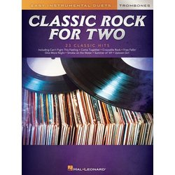 Classic Rock for Two Trombones