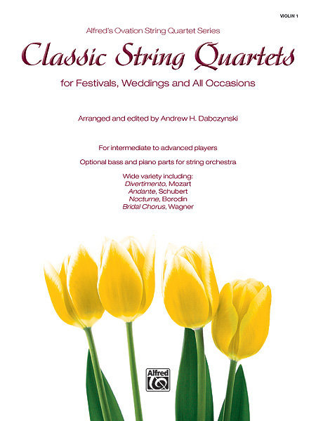 View larger image of Classic String Quartets for Festivals, Weddings - Violin 1