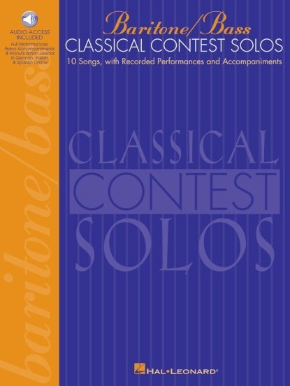 View larger image of Classical Contest Solos - Baritone/Bass w/Online Audio
