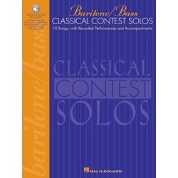 Classical Contest Solos - Baritone/Bass w/Online Audio