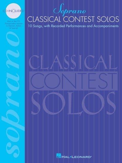 View larger image of Classical Contest Solos - Soprano w/Online Audio