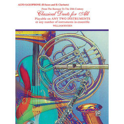 Classical Duets for All - Alto Sax
