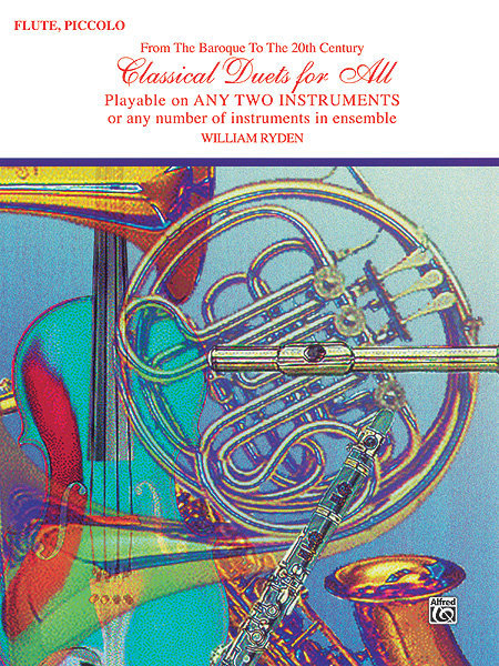 View larger image of Classical Duets for All - Flute