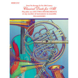 Classical Duets for All - Horn