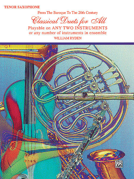 View larger image of Classical Duets for All - Tenor Sax
