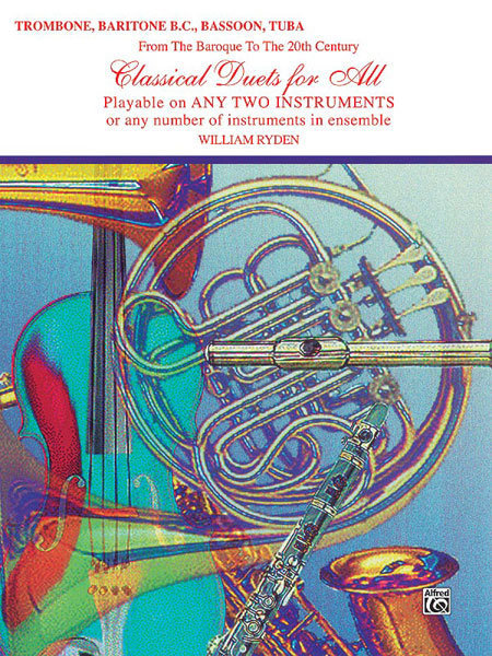 View larger image of Classical Duets for All - Trombone/Baritone