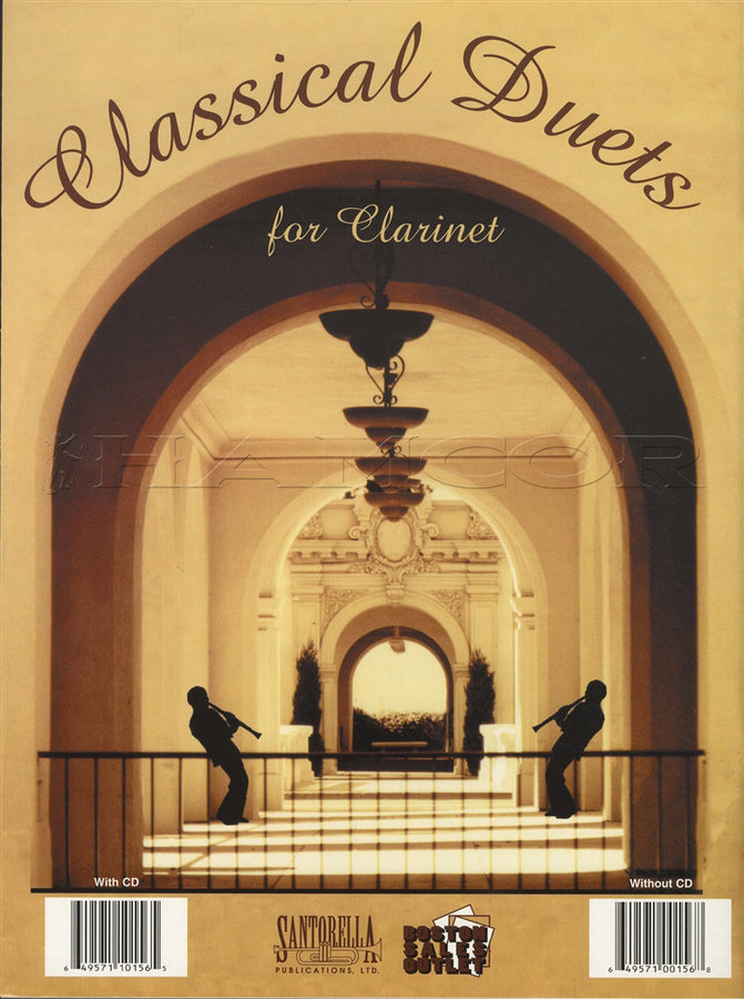 View larger image of Classical Duets for Clarinet w/CD