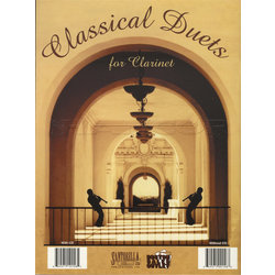 Classical Duets for Clarinet w/CD