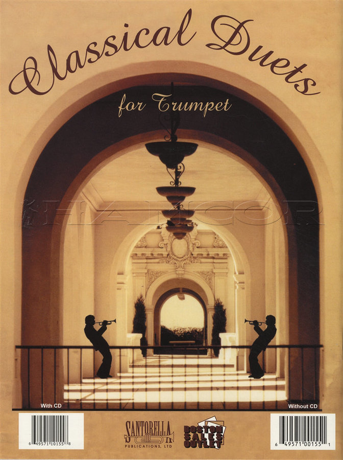 View larger image of Classical Duets for Trumpet w/CD