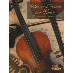 Classical Duets for Violin w/CD