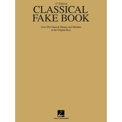 Classical Fake Book - 2nd Edition - C Instruments