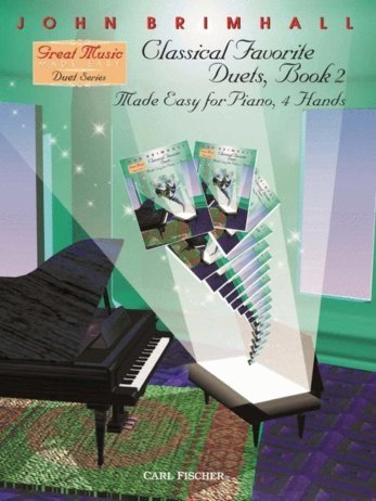 View larger image of Classical Favorite Duets,(Made Easy For 4 Hands) - Book 2