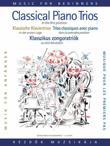 View larger image of Classical Piano Trios for Beginners - (First Position)