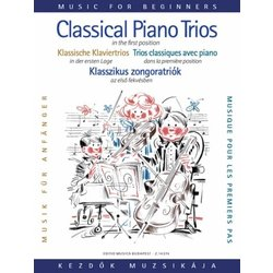 Classical Piano Trios for Beginners - (First Position)