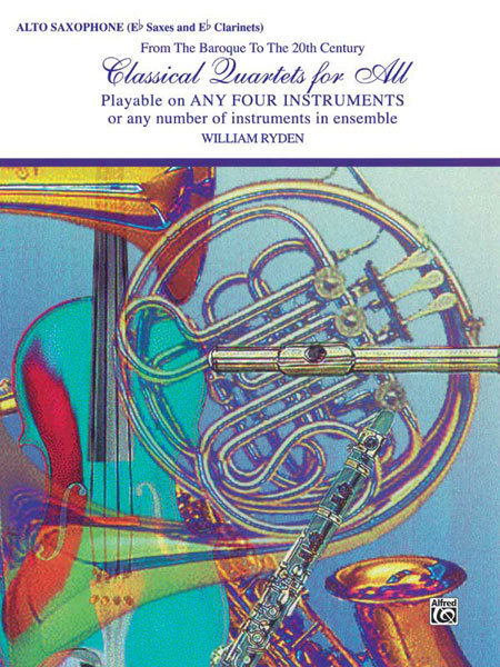 View larger image of Classical Quartets for All - Alto Sax