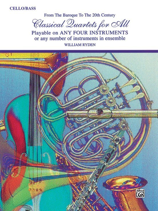 View larger image of Classical Quartets for All - Cello/Bass