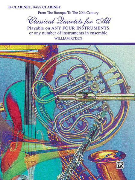 View larger image of Classical Quartets for All - Clarinet