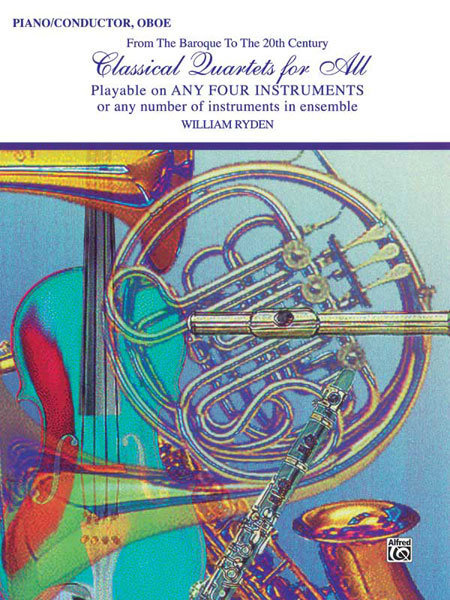 View larger image of Classical Quartets for All - Piano/Conductor,Oboe