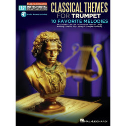 Classical Themes Easy Instrumental Play Along - Trumpet w/Online Audio
