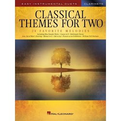 Classical Themes for Two - Clarinets