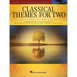 Classical Themes for Two - Violins