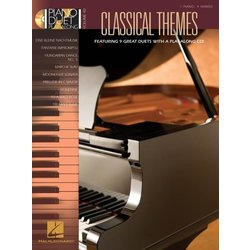 Classical Themes - Piano Duet Play Along - Vol.40 w/CD